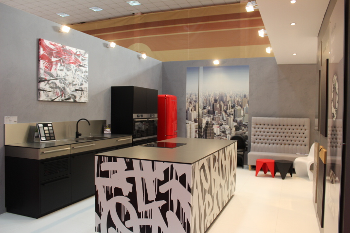 Mansarde cu buc t rii neo loft vine cu module flexibile - Nolte home studio ...