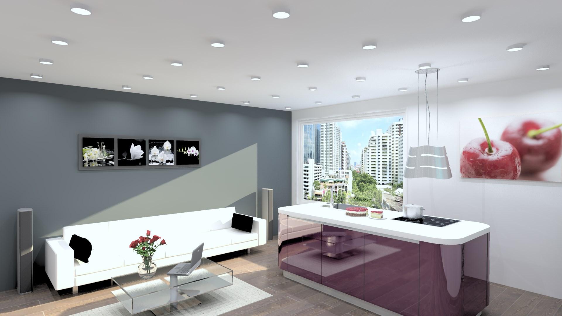 Buc t rie tip insul cu linii moderne - Nolte home studio ...